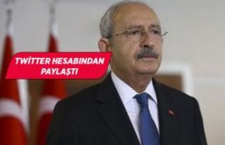 Kılıçdaroğlu'ndan 'İzmir' paylaşımı