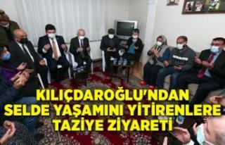 Kılıçdaroğlu'ndan selde yaşamını yitirenlere...