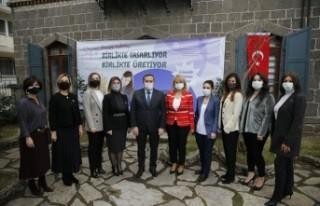 Konaklı kadınlara iş garantili kurs