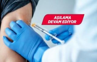 Kovid-19 aşısı yaptıranların sayısı 2 milyonu...