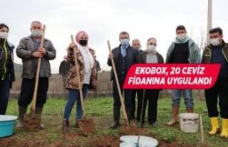 Kuraklığa karşı can suyu Ekobox