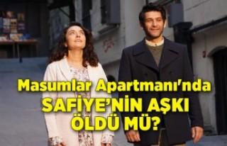 Masumlar Apartmanı'nda Safiye'nin aşkı...