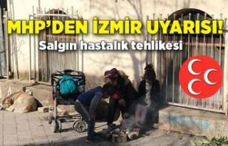 MHP'li Şahin'den Basmane çıkışı: Salgın...
