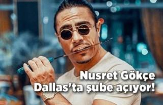 Nusret Gökçe Dallas'ta şube açıyor!