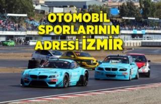 Otomobil sporlarının adresi İzmir