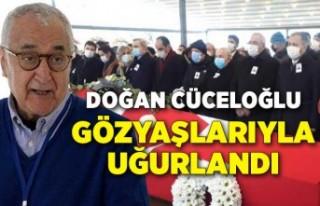 Prof. Dr. Doğan Cüceloğlu gözyaşlarıyla uğurlandı