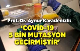 Prof. Dr. Karadenizli: Covid-19, şimdiye kadar yaklaşık...