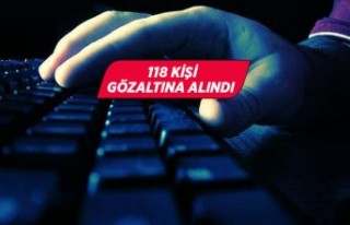 Sosyal medyada terör örgütü propagandasına 118...