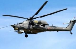 Suriye'de Rus helikopteri düştü: Pilot öldü