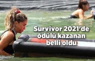 Survivor 2021'de yemek ödülünün kazananı...