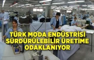 Türk moda endüstrisi sürdürülebilir üretime...