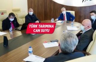 Türk tarımına can suyu olacak iş birliği