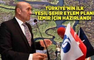 Türkiye'nin ilk Yeşil Şehir Eylem Planı İzmir...