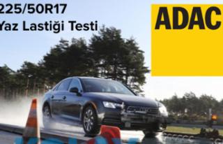 225 50 R17 yaz lastikleri testi ADAC