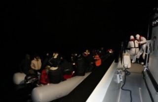 36 kaçak göçmeni Sahil Güvenlik kurtardı