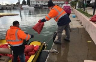 700 kg akivades denize iade edildi