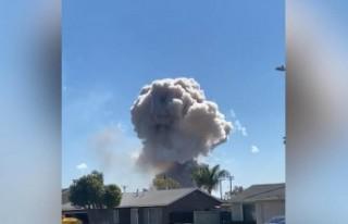 ABD'de havai fişek dolu evde patlama