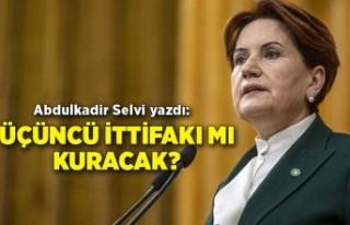 Abdulkadir Selvi yazdı: İYİ Parti Millet İttifakı'nda...