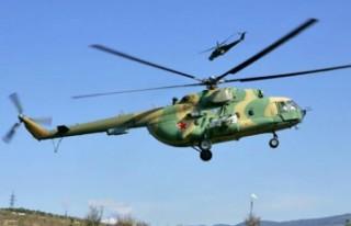 Afganistan'da askeri helikopter düştü: 9 ölü