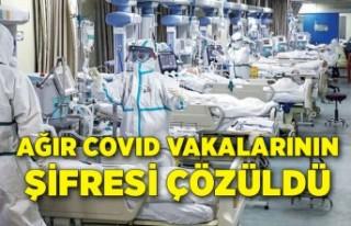 Ağır Covid vakalarının şifresi çözüldü