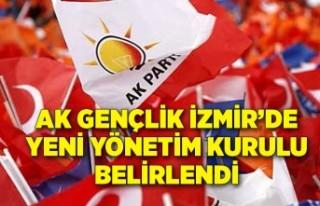 AK Gençlik İzmir'de yeni yönetim kurulu belirlendi
