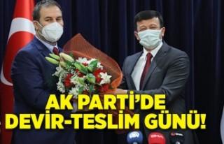 AK Parti'de devir-teslim günü