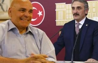 AK Partili Ahmet Hamdi Çamlı'nın Rasim Öztekin...