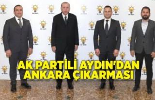 AK Partili Aydın'dan Ankara çıkarması