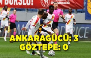 Ankaragücü: 3 - Göztepe: 0