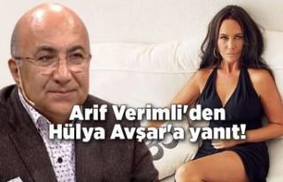 Arif Verimli'den Hülya Avşar'a sapyoseksüel...