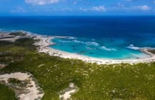 Bahamalar'daki tropik ada 19.5 milyon dolara...