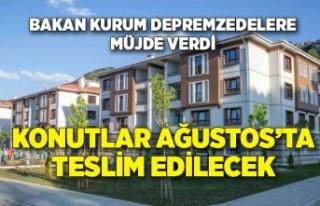 Bakan Kurum açıkladı: İzmir'deağustos...