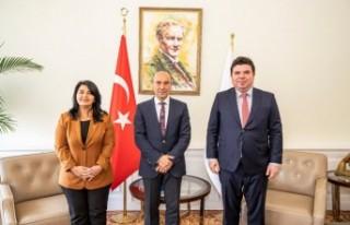 Başkan Soyer'e teşekkür ziyareti