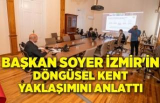 Başkan Soyer İzmir'in döngüsel kent yaklaşımını...