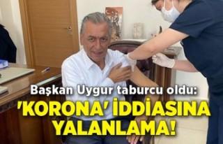 Başkan Uygur taburcu oldu: 'Korona' iddiasına...