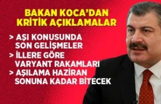 Bilim Kurulu sonrası Bakan Fahrettin Koca'dan kritik...