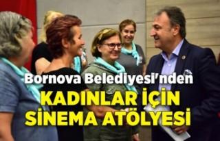 Bornova Belediyesi'nden kadınlar için sinema...