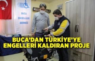 Buca'dan Türkiye'ye engelleri kaldıran proje