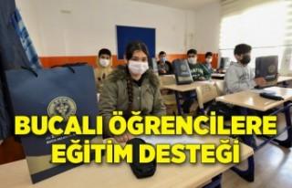 Bucalı öğrencilere AHBAP Derneği'yle eğitim...