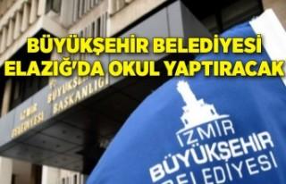 Büyükşehir Belediyesi Elazığ'da okul yaptıracak