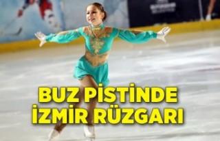 Buz pistinde İzmir rüzgarı