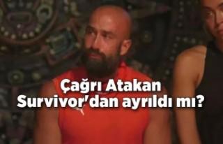 Çağrı Atakan Survivor'dan ayrıldı mı?