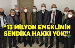 CHP'li Beko: 13 milyon emeklinin sendika hakkı...