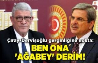 Çıray-Dervişoğlu gerginliğine nokta: 'Ben...