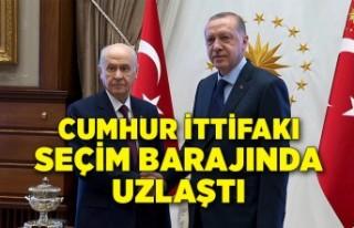 Cumhur İttifakı, seçim barajında uzlaştı iddiası