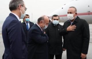 Dışişleri Bakanı Çavuşoğlu Tacikistan'da