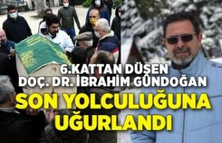Doç. Dr. İbrahim Gündoğan son yolculuğuna uğurlandı