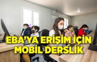 EBA'ya erişim için mobil derslik