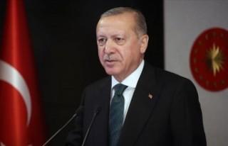 Erdoğan: Aziz milletimizin başı sağ olsun