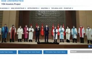 """EÜ """"YÖK Anadolu Projesi"""" Web Portalı..."""